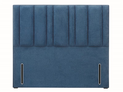 Hypnos Harriet 4 6 Double Slate Weave Strutted Fabric Headboard