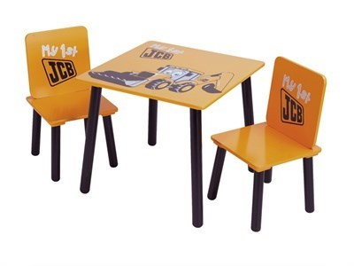 Kidsaw JCB Table and Chairs Desk