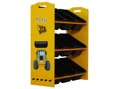 Kidsaw JCB 9 Bin Storage Drawer Chest