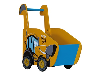 Kidsaw JCB Push along Toy Box