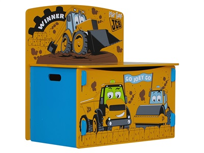 Kidsaw JCB Play-box Toy Box
