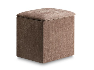 New Design Jenny Workbox Rose Textured Velour Furniture Blanket Box