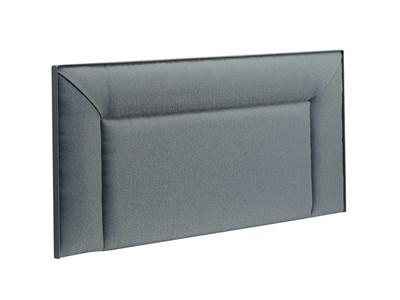 New Design Jodie Leather 4 Small Double Black Faux Leather Leather Headboard