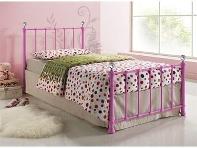 Birlea Jessica Pink 3' Single Jessica Pink Metal Bed