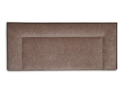 New Design Jodie - Natural 5 King Size Chenille Natural Fabric Headboard