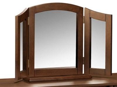 Julian Bowen Minuet Triple Mirror  Wenge Mirror