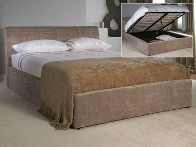 Limelight Jupiter Ottoman 4 Small Double Mink Velvet Ottoman Bed Ottoman Bed