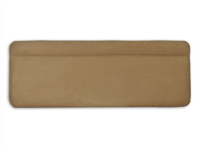 New Design Katie - Coffee 5 King Size Coffee Faux Suede Fabric Headboard