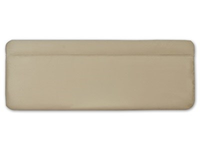 New Design Katie - Latte 3 Single Latte Faux Suede Fabric Headboard