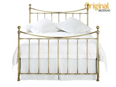 Original Bedstead Co Kendal Headboard 3 Single Antique Nickel Headboard Only Metal Headboard