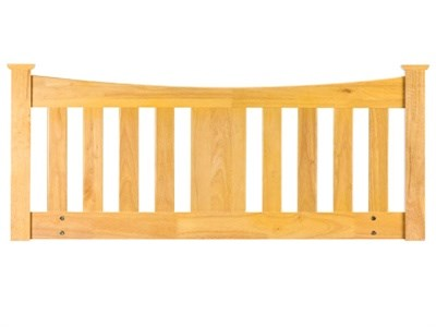 Sweet Dreams Kingfisher 5' King Size Oak Wooden Headboard