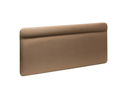 New Design Katie Leather 3 Single Saddle Stone Leather Headboard