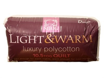 Snug Co Ltd 10.5 Tog Polycotton Quilt 5 King Size Duvet