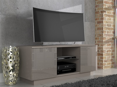 Product photograph showing Lima High Gloss Tv Unit