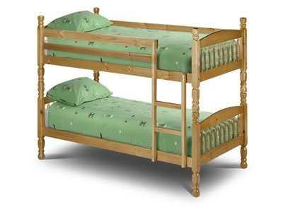 Julian Bowen Lincoln Bunk 2 6 Small Single Natural Bunk Bed Bunk Bed