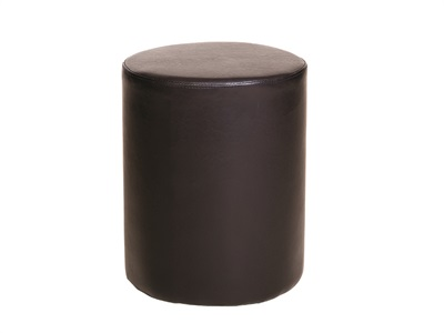 Furniture Express Round Faux Leather Stool Black Leather Stool