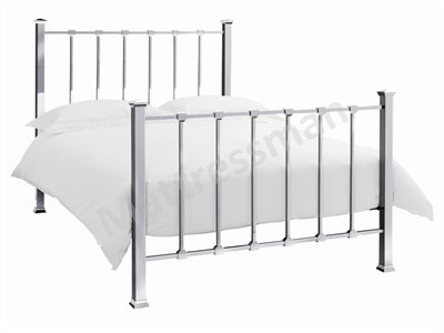 Bentley Designs Madison 4 6 Double Nickel Metal Bed