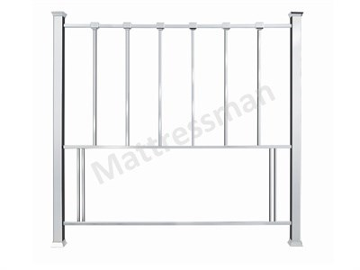 Bentley Designs Madison 4 6 Double Nickel Metal Headboard