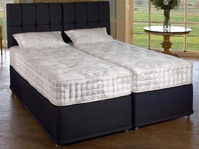 Relyon Marquess (Firm) 5 King Size Zip And Link Mattress Only Mattress