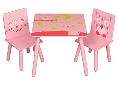 Kidsaw Owl & Pussycat Table and Chairs  Desk