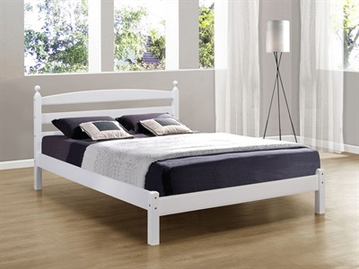 Birlea Oslo 3 Single White Slatted Bedstead Wooden Bed