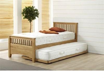 AirSprung Oakrest Guest Bed Frame 3 Single Stowaway Bed
