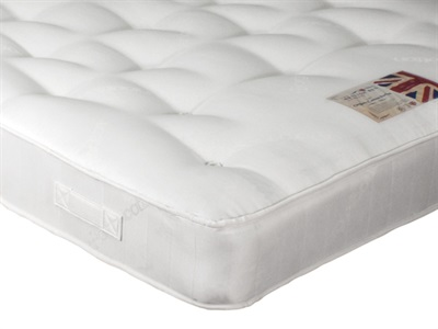 British Bed Company Organic Cotton Pocket 3 Single Mattress Only