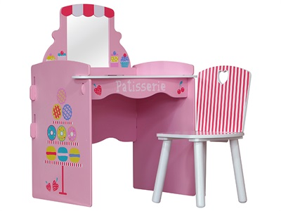 Kidsaw Patisserie Dressing Table & Chair Dressing Table