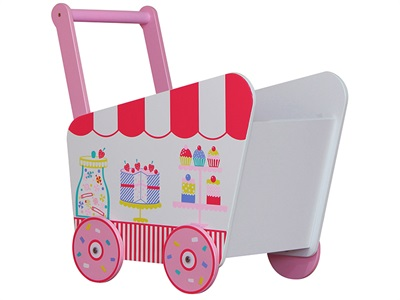 Kidsaw Patisserie Push Along Toy Box