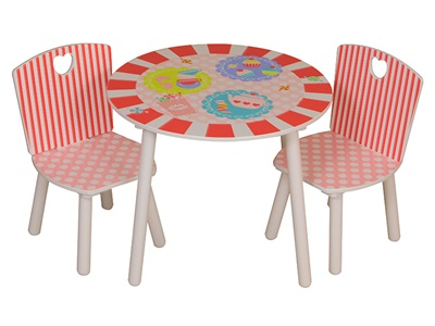 Kidsaw Patisserie Table and chairs Desk