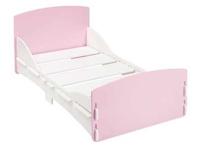 Kidsaw Shorty Junior Bed Pink 2 6 Small Single Childrens