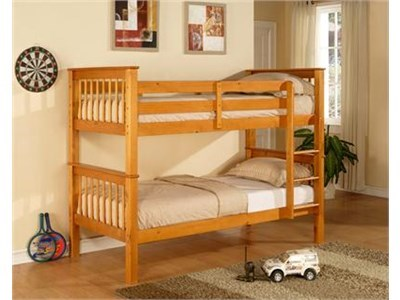 Limelight Pavo Bunk 3 Single Natural Bunk Bed Bunk Bed