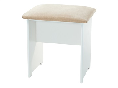 Furniture Express Pembroke Stool White One Seater Stool