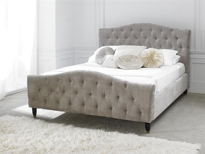 Limelight Phobos Mink 6 Super King Fabric Bed
