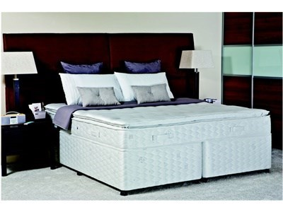 Sealy Contract Pillow Honister 4 6 Double Platform Top - No Drawers Divan