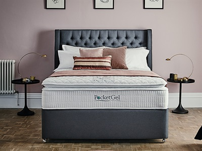 Sleepeezee Pocket Gel Poise 3200 Pocket Sprung Mattress from £709.75