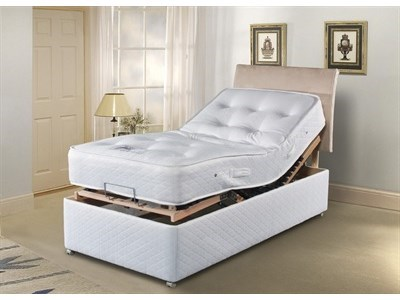 Sleepeezee Pocket Adjustable - With Drawers Electric Bed 6 Super King Adjustable Bed - 4 Drawers Electric Bed
