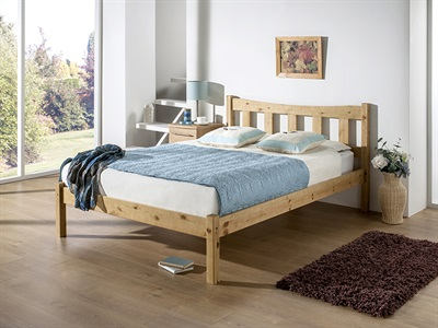 Snuggle Beds Poppy 4 6 Double Pine Wooden Bed