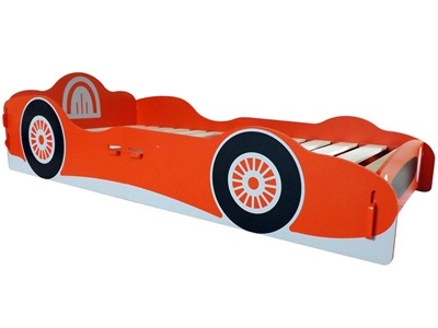 Kidsaw Racing Car Single Bed 3 Single Childrens Bed