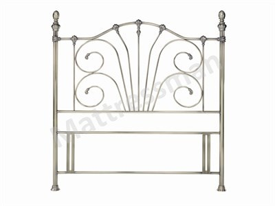 Bentley Designs Rebecca Antique Brass 5 King Size Antique Brass Headboard Only. Metal Headboard