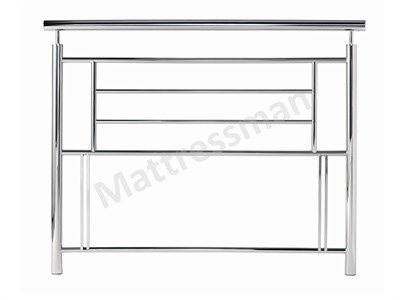Bentley Designs Sigma 4 6 Double Nickel Metal Headboard