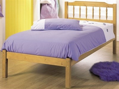 AirSprung Seattle 3 Single Slatted Bedstead Wooden Bed