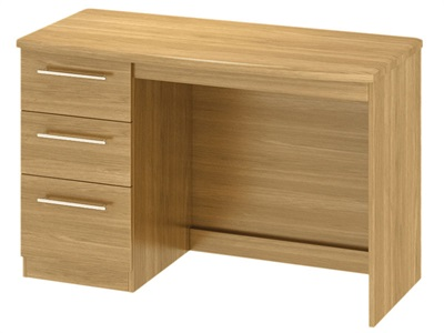 Furniture Express Sherwood Desk Modern Oak Assembled Desk