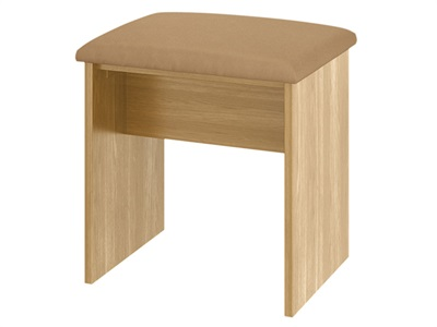 Furniture Express Sherwood Stool Modern Oak One Seater Stool