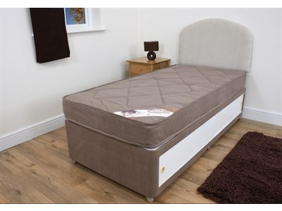 Snuggle Beds Snuggle Light Divan Set 4 Small Double Platform Top - 4 Drawers Divan