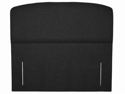 Snuggle Beds Storm Black 3 Single Executive Black Fabric Headboard