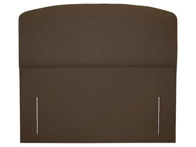 Snuggle Beds Storm Brown 6 Super King Executive Brown Fabric Headboard