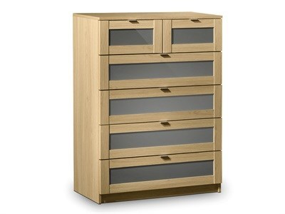 Julian Bowen Strada 4+2 Drawer Chest Drawer Chest