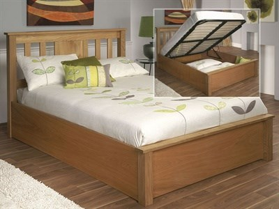 Limelight Terran Ottoman 4 6 Double Natural Ottoman Bed