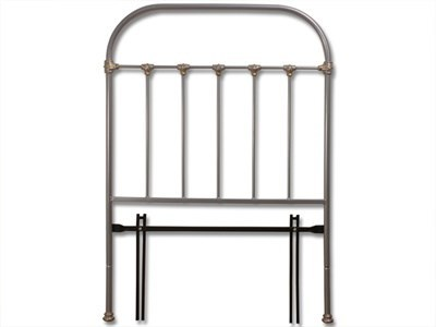 Original Bedstead Co Timolin Headboard 3 Single Glossy Ivory Headboard Only Metal Headboard